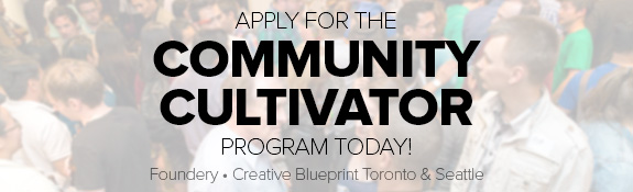 Apply for our Community Cultivator Program!